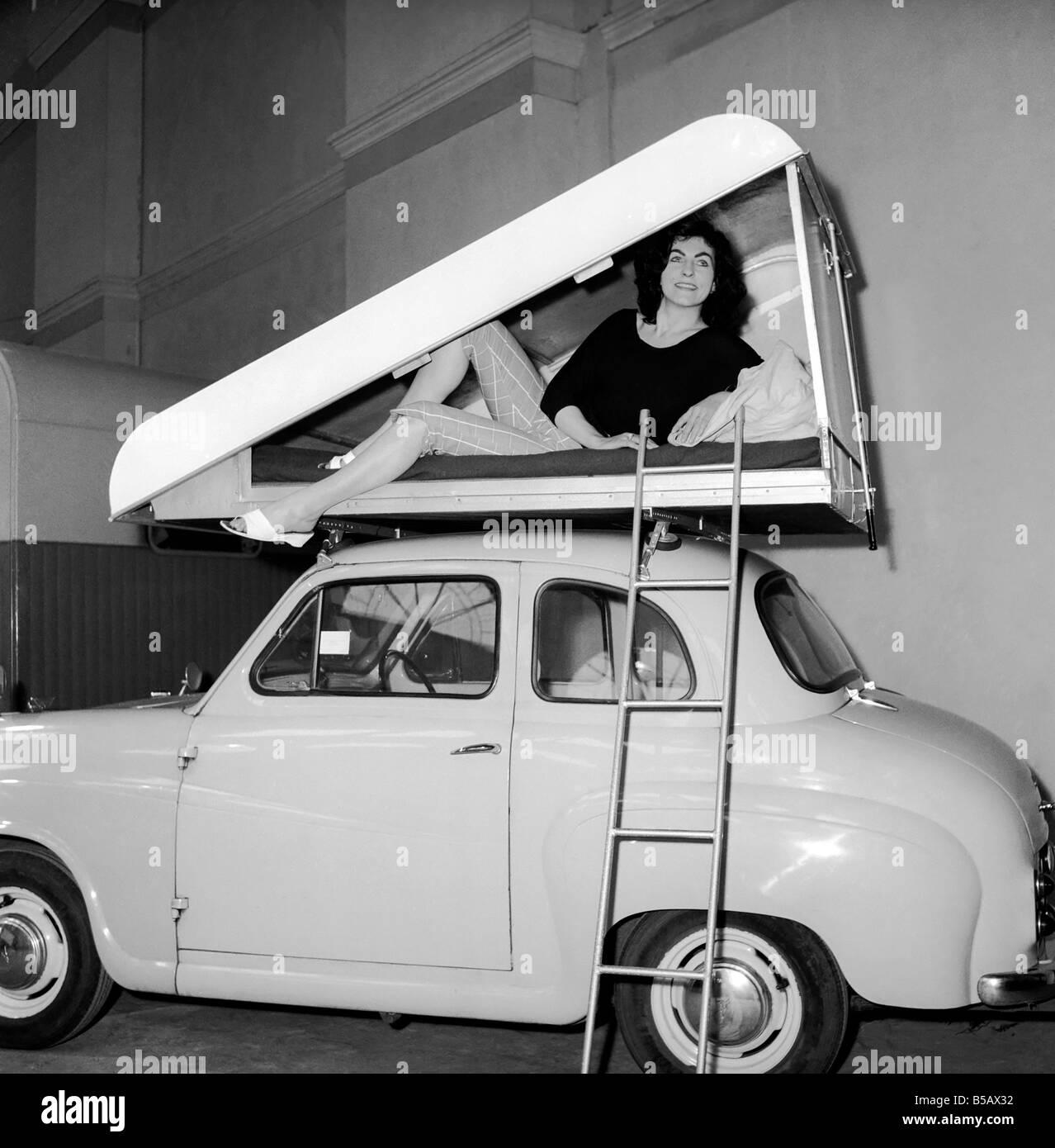 inventions tente de toit de voiture une nouvelle. Black Bedroom Furniture Sets. Home Design Ideas