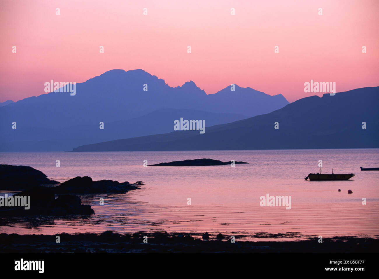 Ord, Strathaird, Highlands, Ecosse, Europe Photo Stock