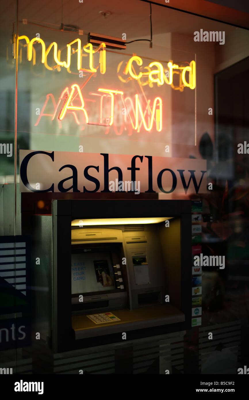 Distributeur automatique de Wellington New Zealand Banque D'Images
