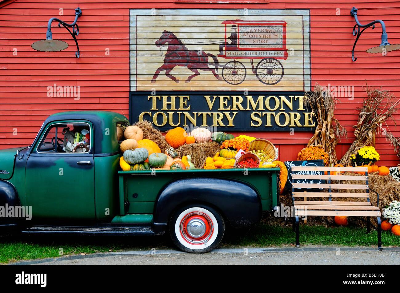 Le Vermont Country Store, Weston, Vermont, Etats-Unis Banque D'Images