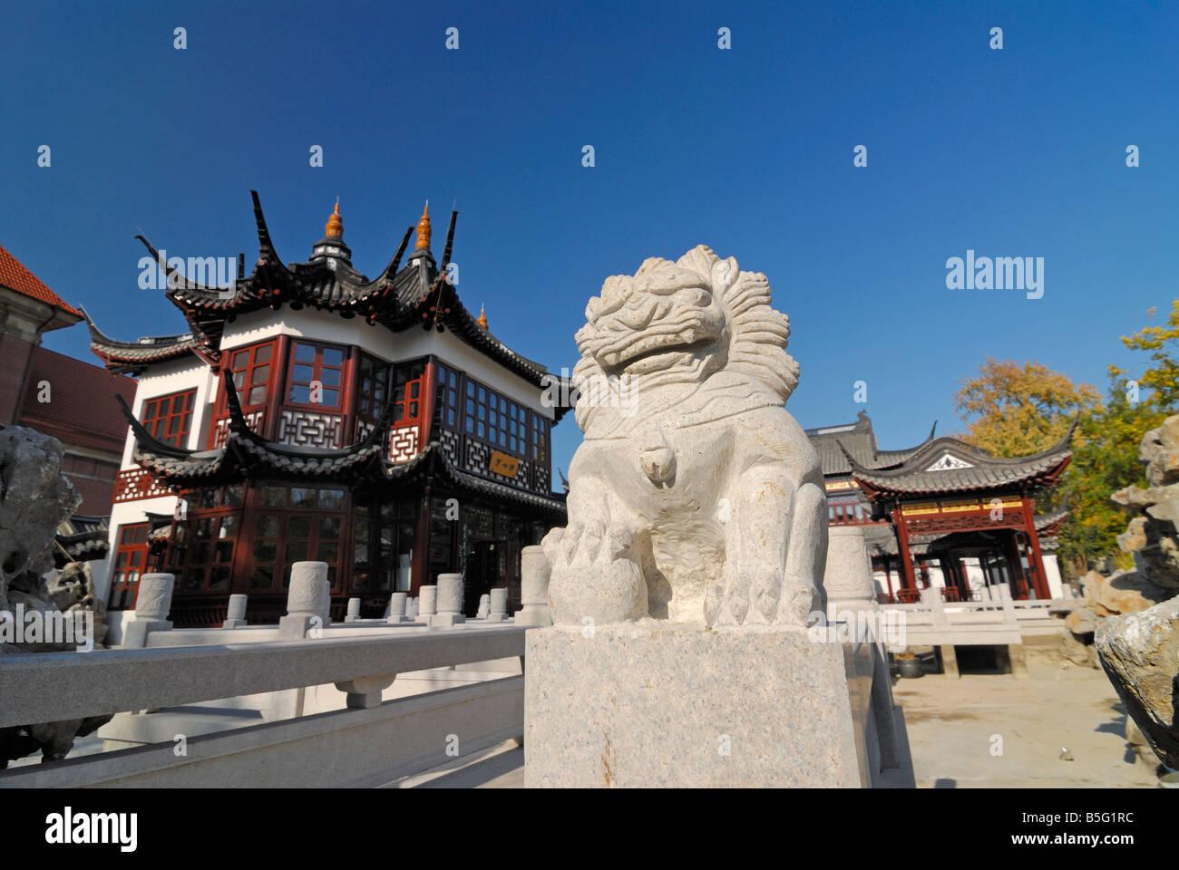 Le thé chinois et le bureau de leurope hamburg shanghai tourisme