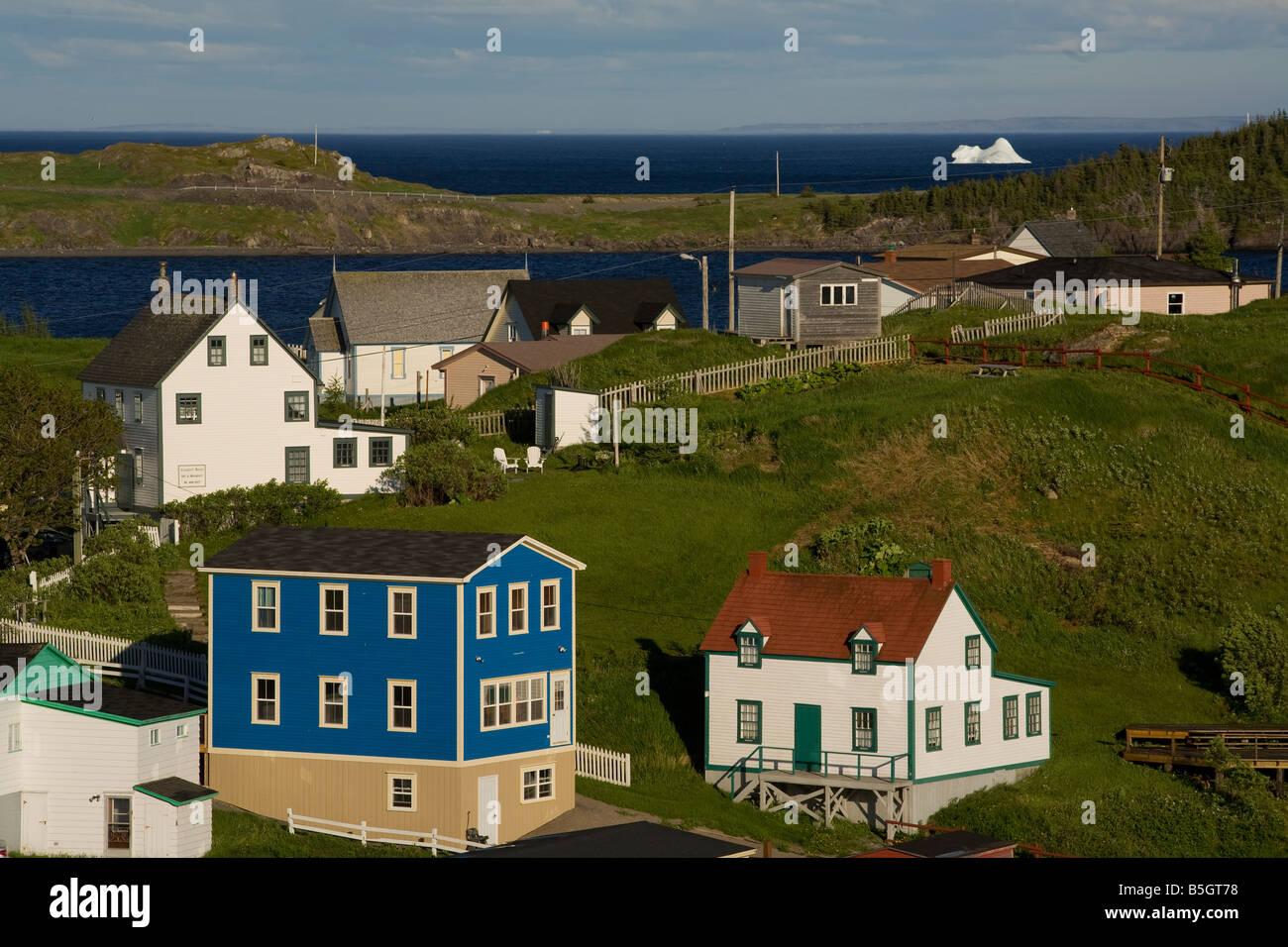Terre-neuve-Labrador Canada Trinity Photo Stock