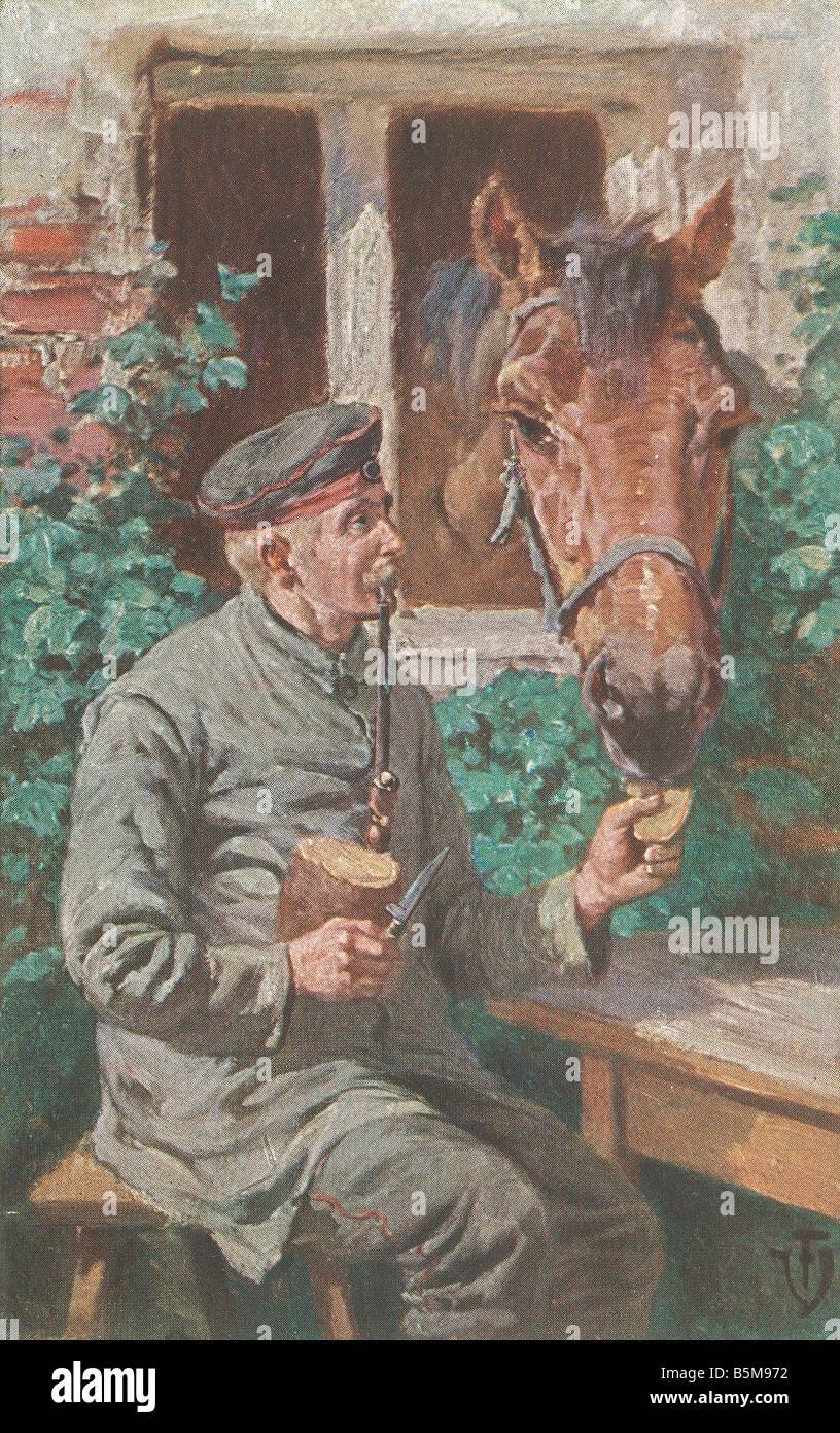 2 G55 P1 1914 33 camarades de guerre La Première Guerre mondiale Première Guerre mondiale Histoire Carte Photo Stock
