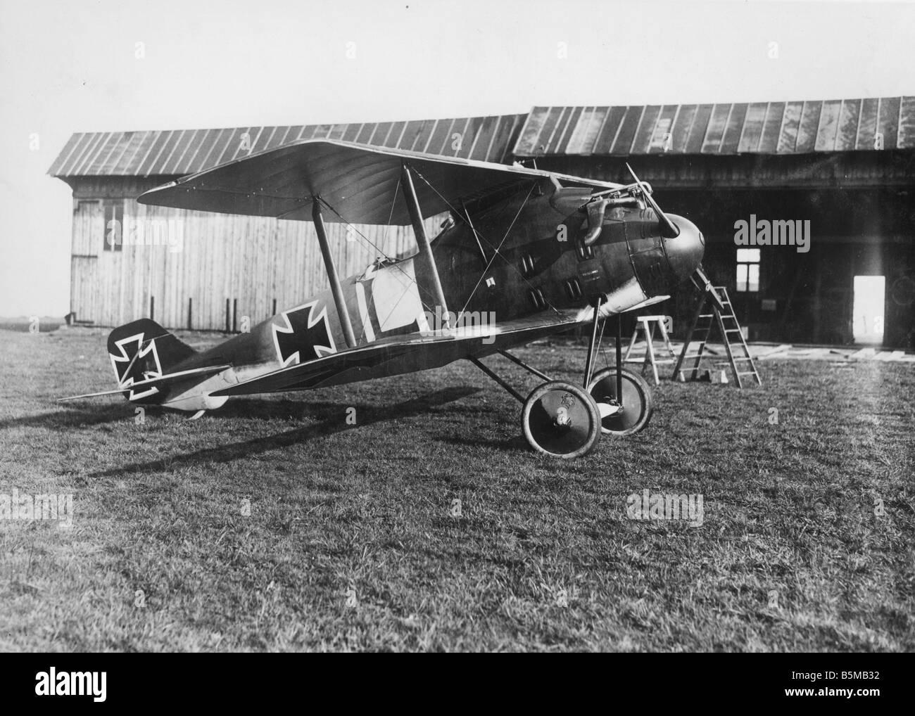 2 M75 L1 1918 1 avion de guerre militaire armée de l'Allemand Pfalz 1918 Première Guerre mondiale avion de guerre 1914 18 Palatinat Typ D XII 1918 180 PS O Banque D'Images