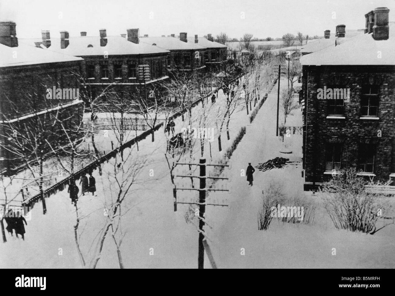 9 1917 1215 A1 13 Brest Litowsk vivant quarts de deleg Guerre Mondiale 1 1914 18 Russian German armistice de Brest Litowsk 15 Décembre Banque D'Images
