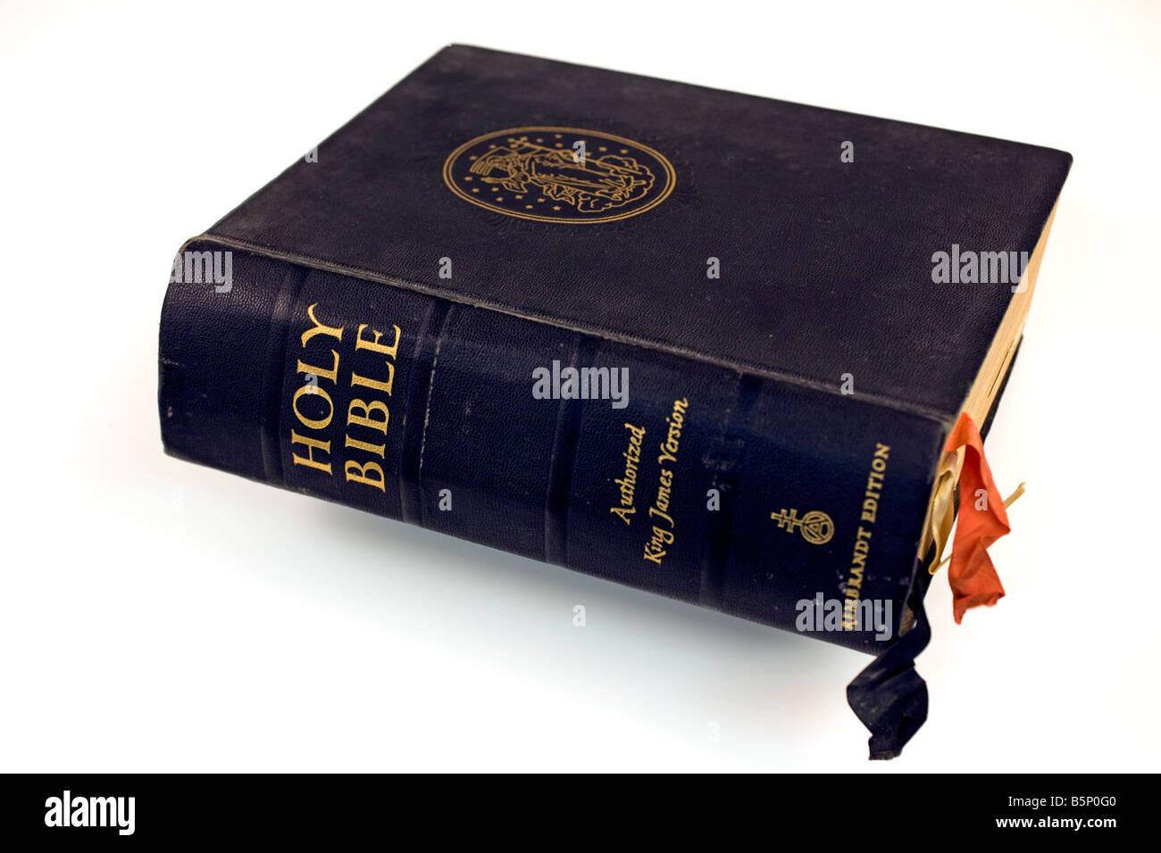 La version King James Bible Banque D'Images