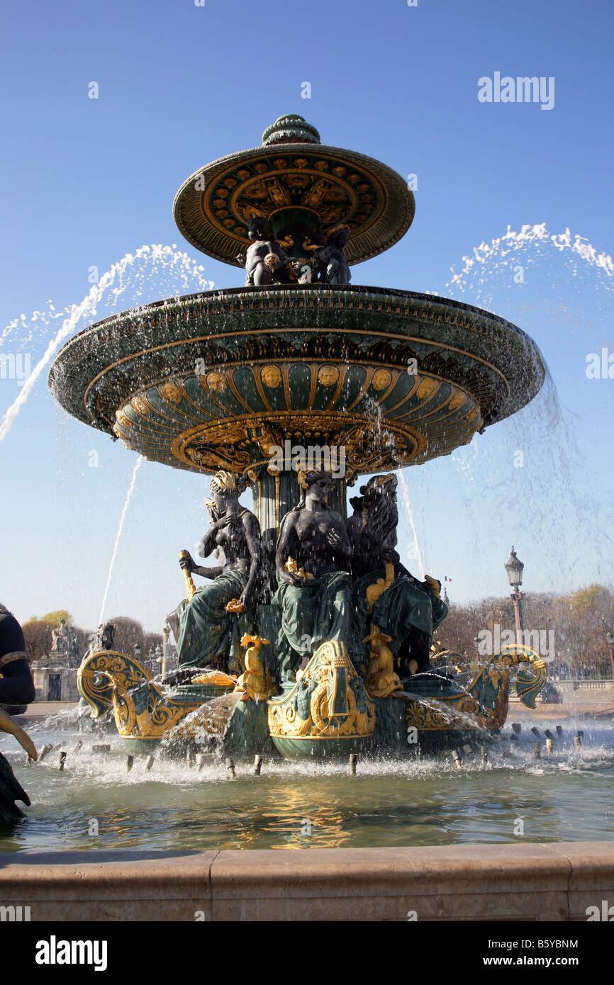 grande fontaine Banque D'Images