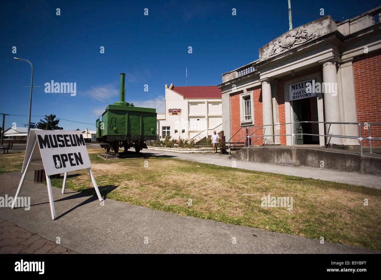 Musée d'histoire de Foxton Foxton Manawatu Nouvelle-zélande Banque D'Images