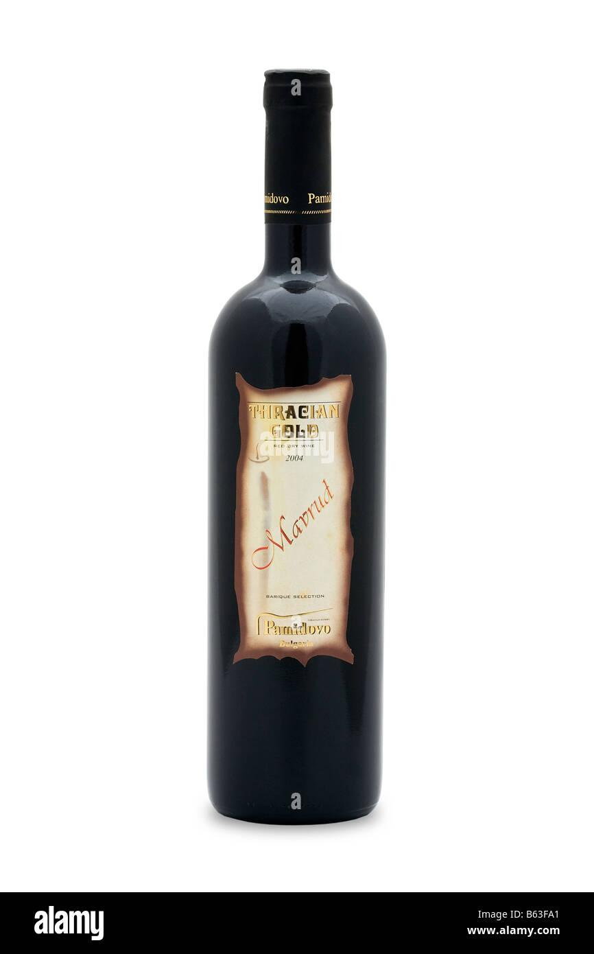 l'or des thraces de vin rouge sec mavrud pamidovo bulgarie riche