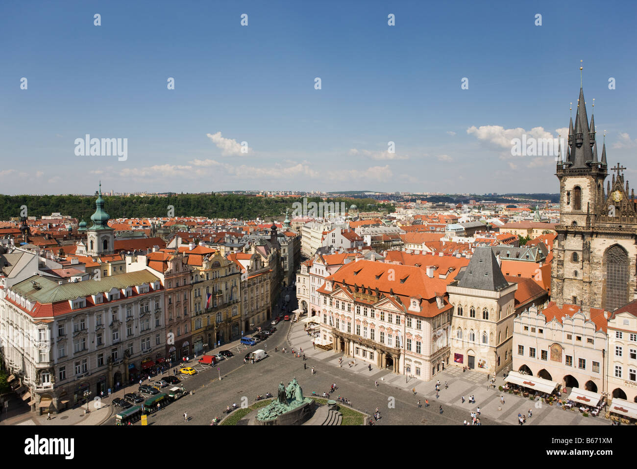 Stare Mesto Prague Photo Stock