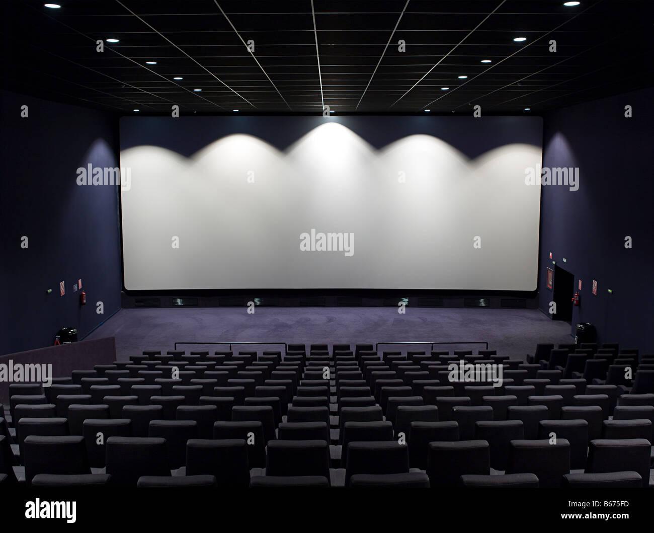 Écran de cinéma Photo Stock