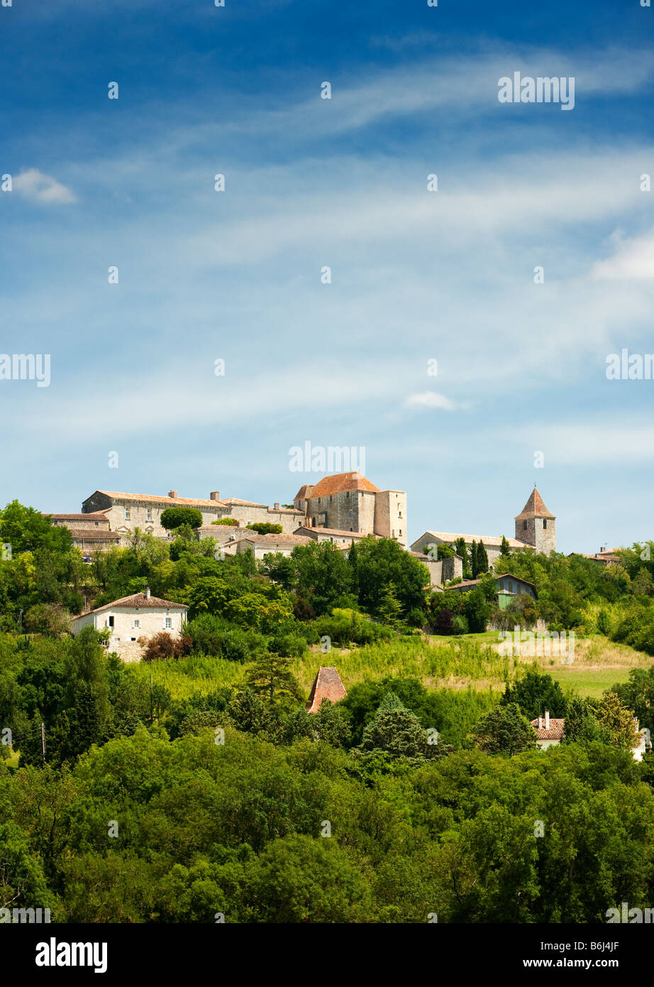 La ville de Gramont en Tarn et Garonne, France, Europe Photo Stock
