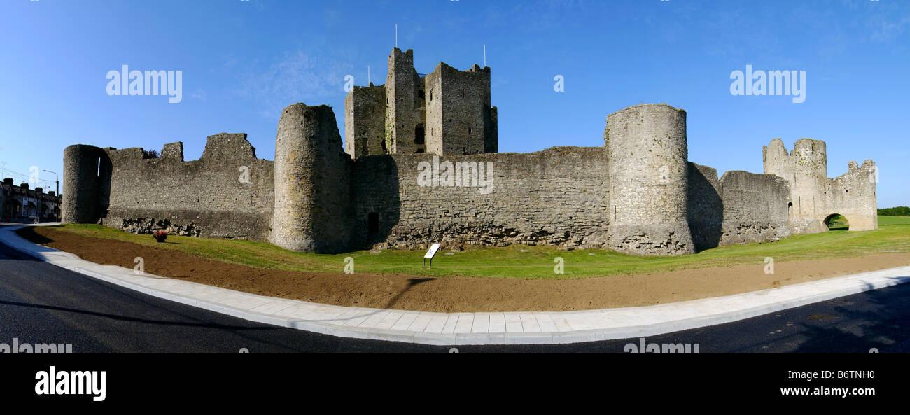 Le Château de Trim Meath Irlande Banque D'Images