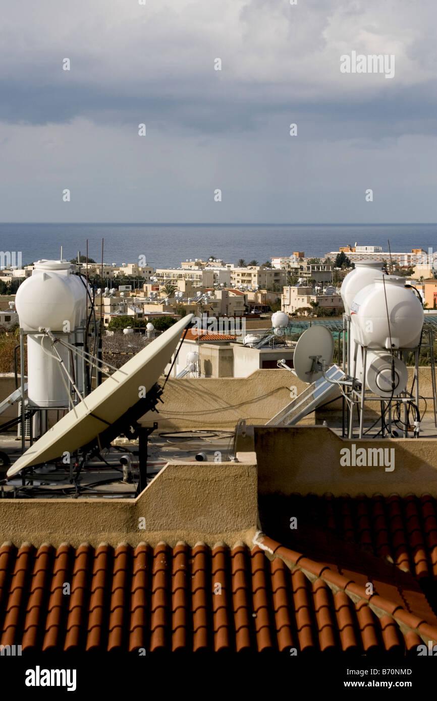Ou Paphos Pafos, Chypre Photo Stock