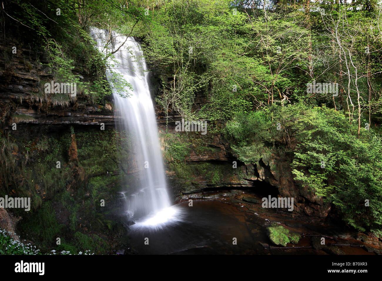 La Célèbre Cascade De Glencar Leitrim Irlande Tel Que