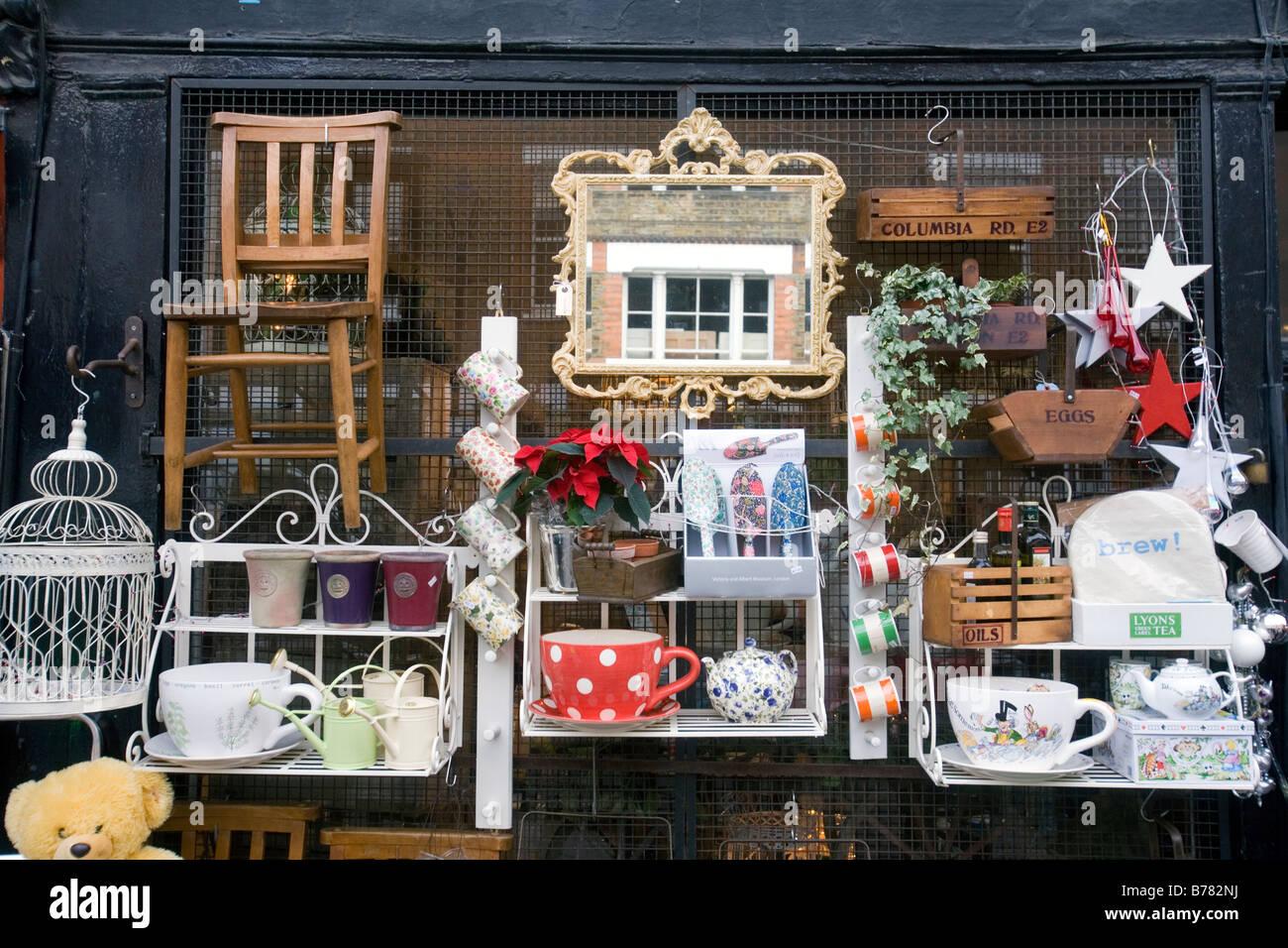 Columbia Road Flower Market à Londres Photo Stock