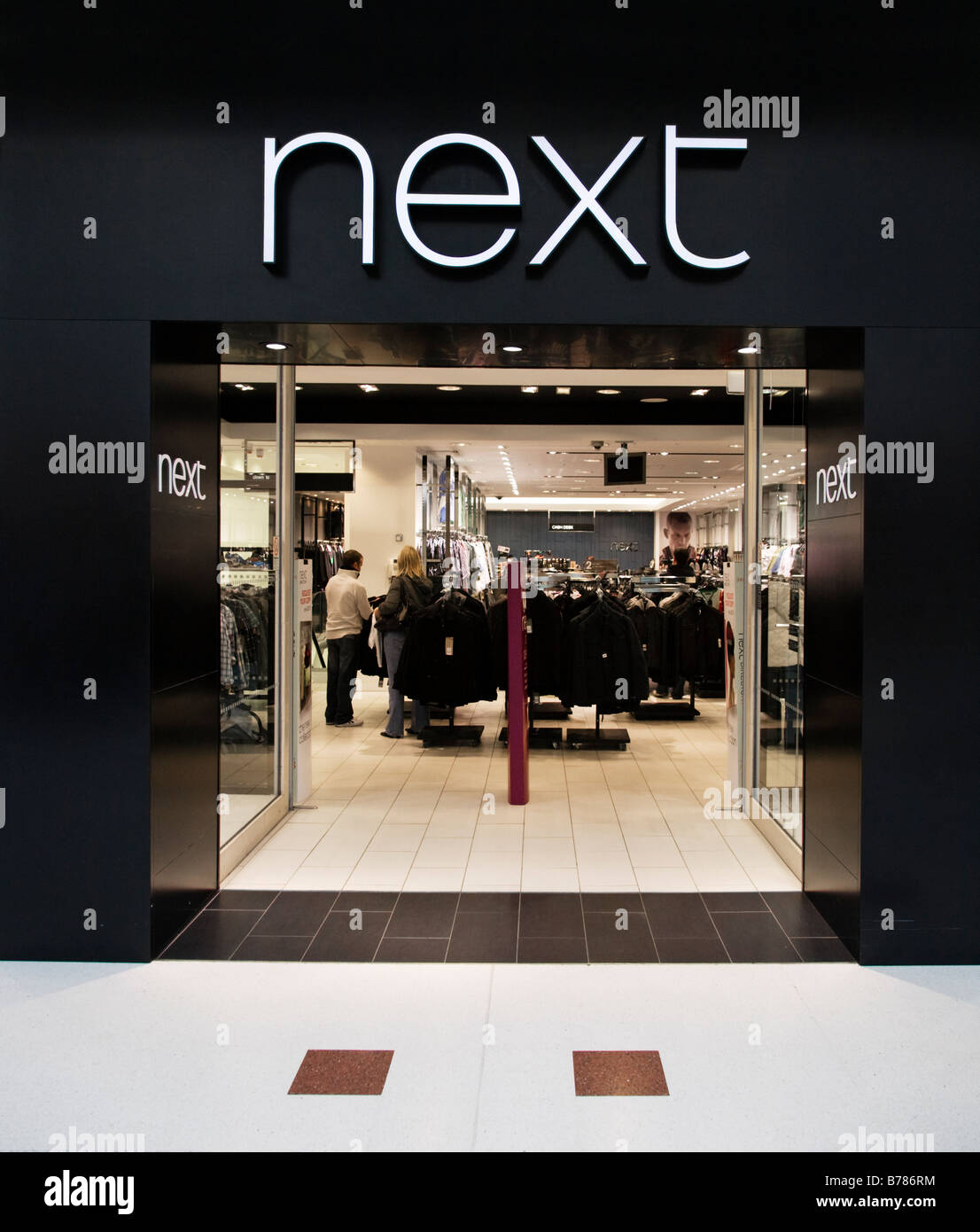 Nouveau magasin à Braehead shopping centre, Renfrewshire, en Écosse. Banque D'Images
