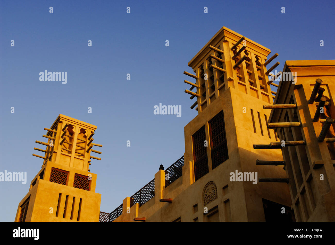 Madinat Jumeirah Hotel, leisure and business centrum, Dubaï, Émirats arabes unis, ÉMIRATS ARABES UNIS, Moyen Orient Banque D'Images