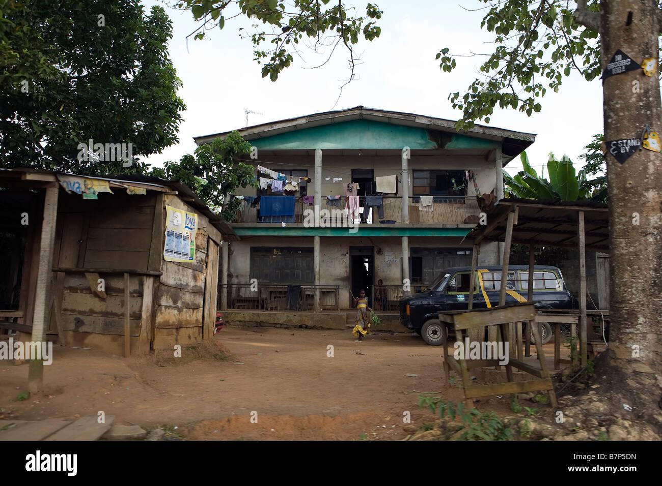 Grande maison à poka epe létat de lagos nigéria