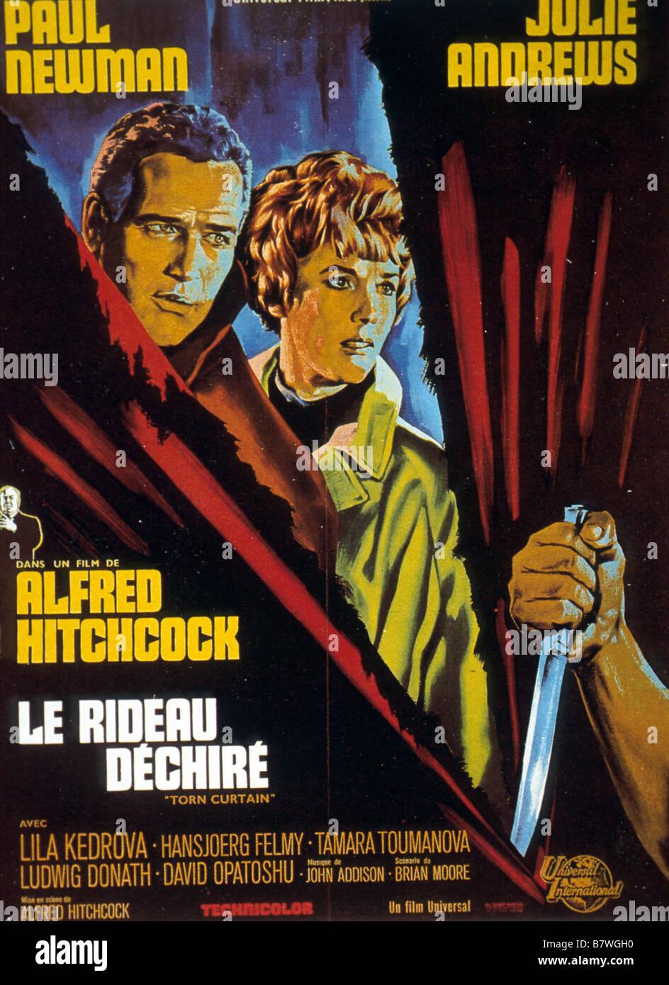 Rideau déchiré Année: 1966 USA Réalisateur: Alfred Hitchcock Movie poster Photo Stock
