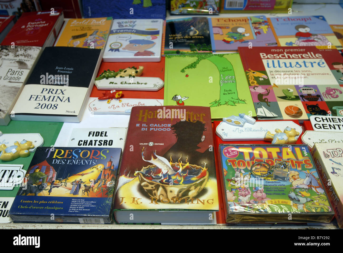Harry Potter Et La Coupe De Feu En Italien Et En Francais