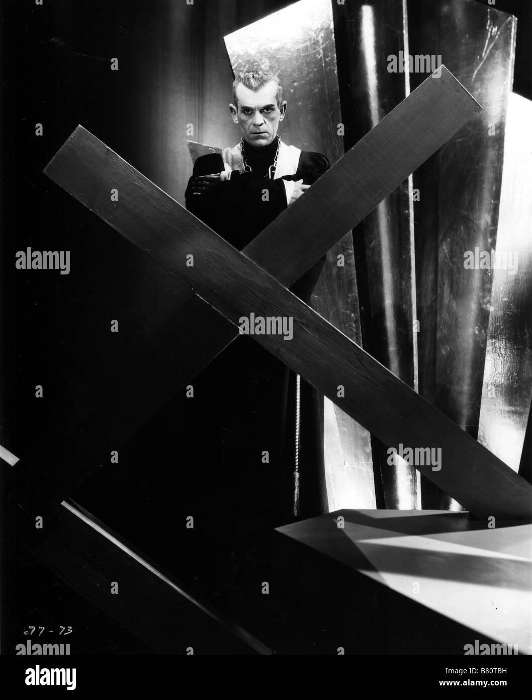 Le Chat Noir Année: 1934 USA Boris Karloff, Directeur: Edgar G. Ulmer Banque D'Images