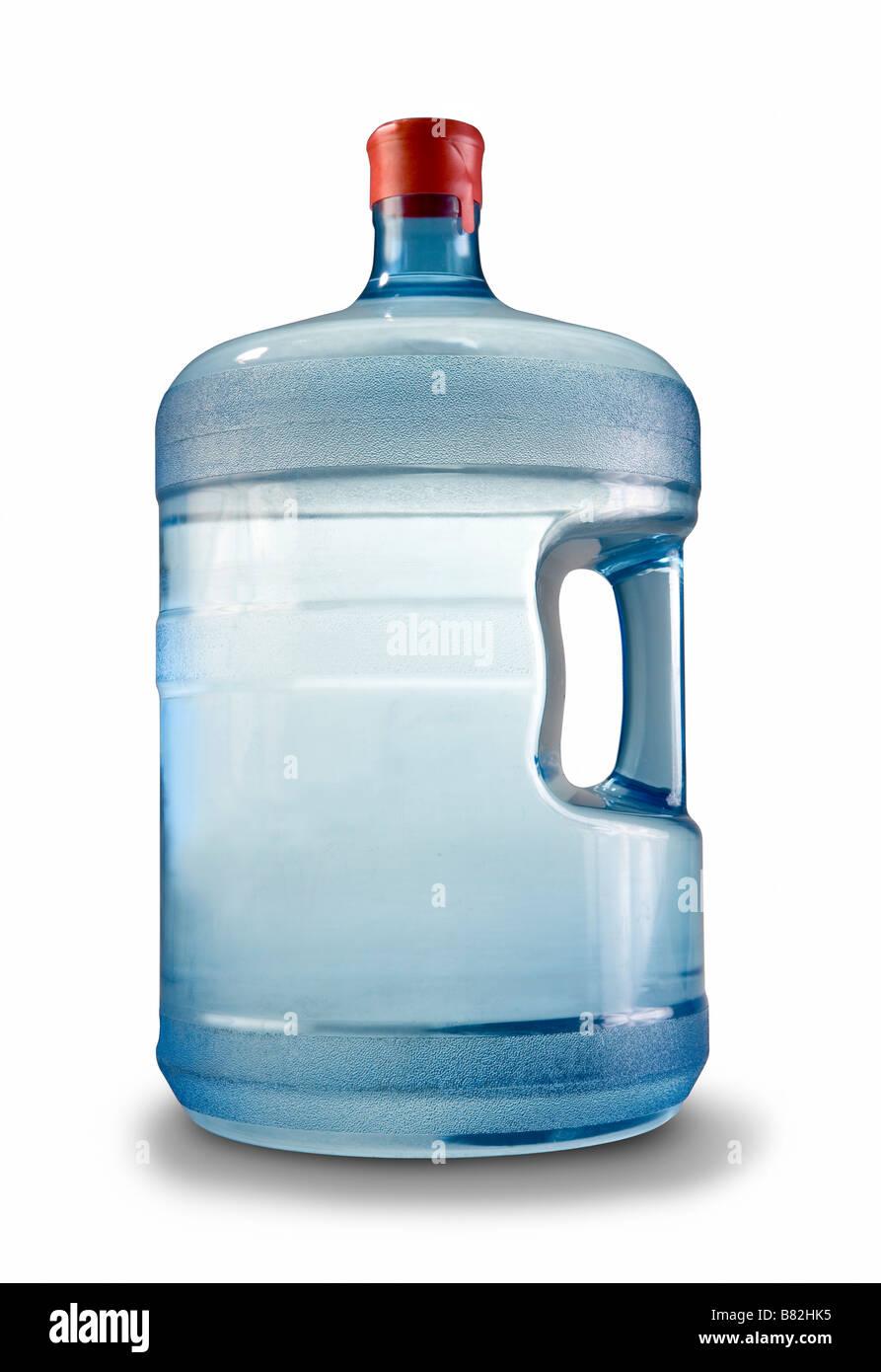 Une cruche d'eau de 5 gallons de printemps ou à l'eau purifiée à partir d'une entreprise Photo Stock