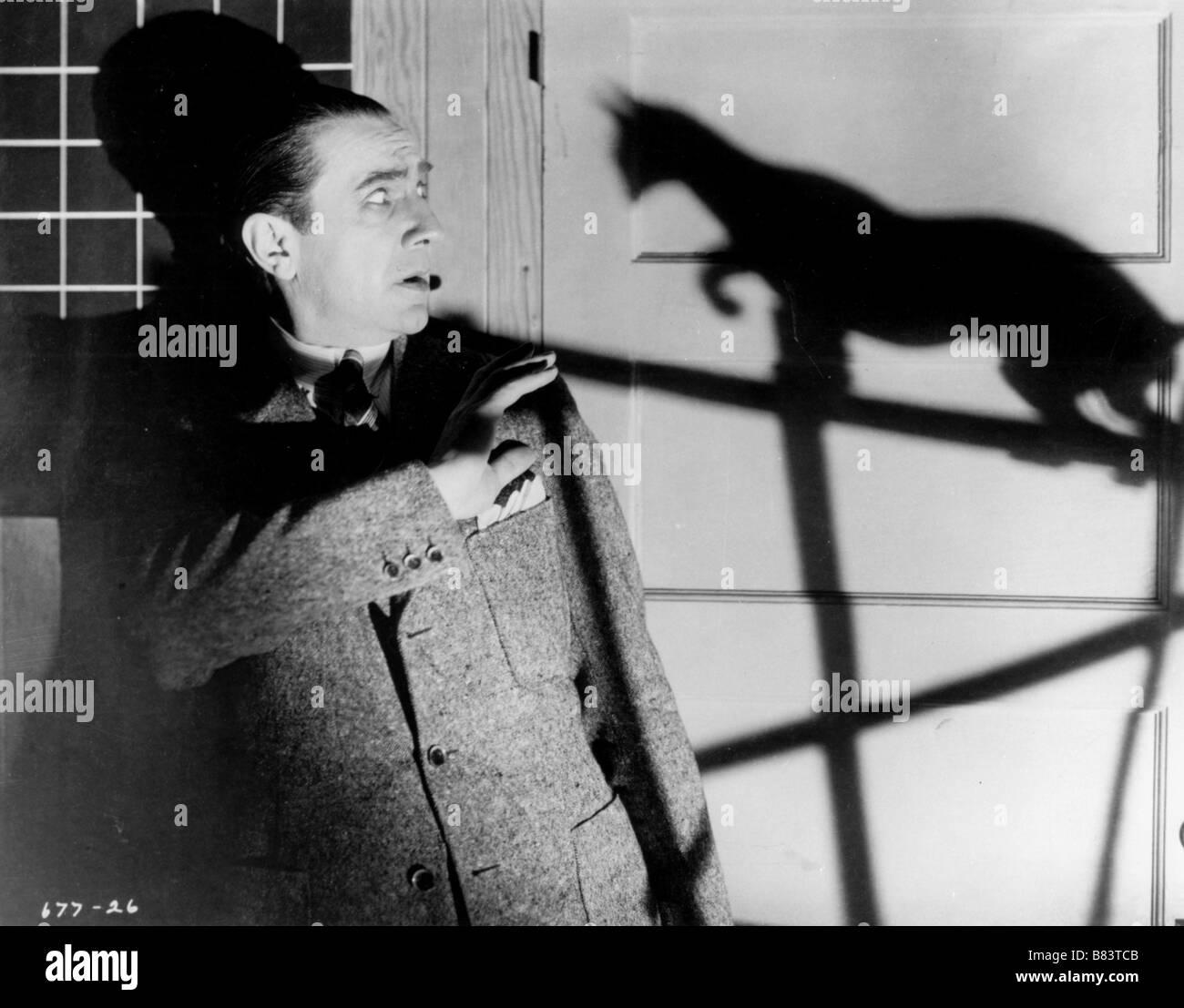 Le Chat Noir Année: 1934 USA Bela Lugosi Réalisateur: Edgar G. Ulmer Banque D'Images