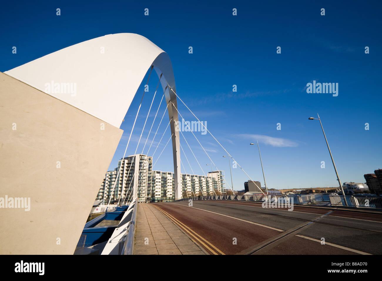 Glasgow Clyde Arc Banque D'Images