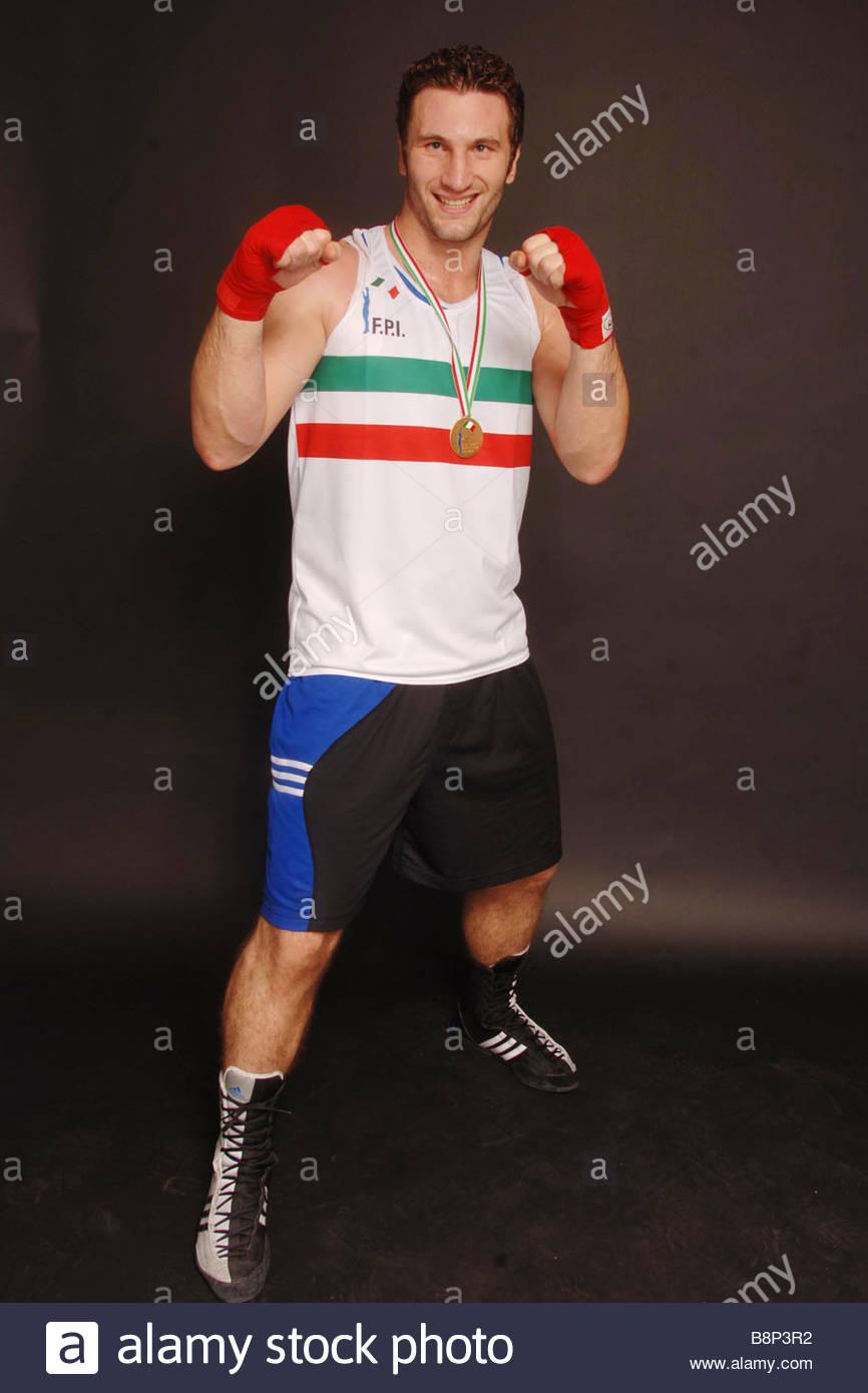 Roberto cammarelle boxer Photo Stock