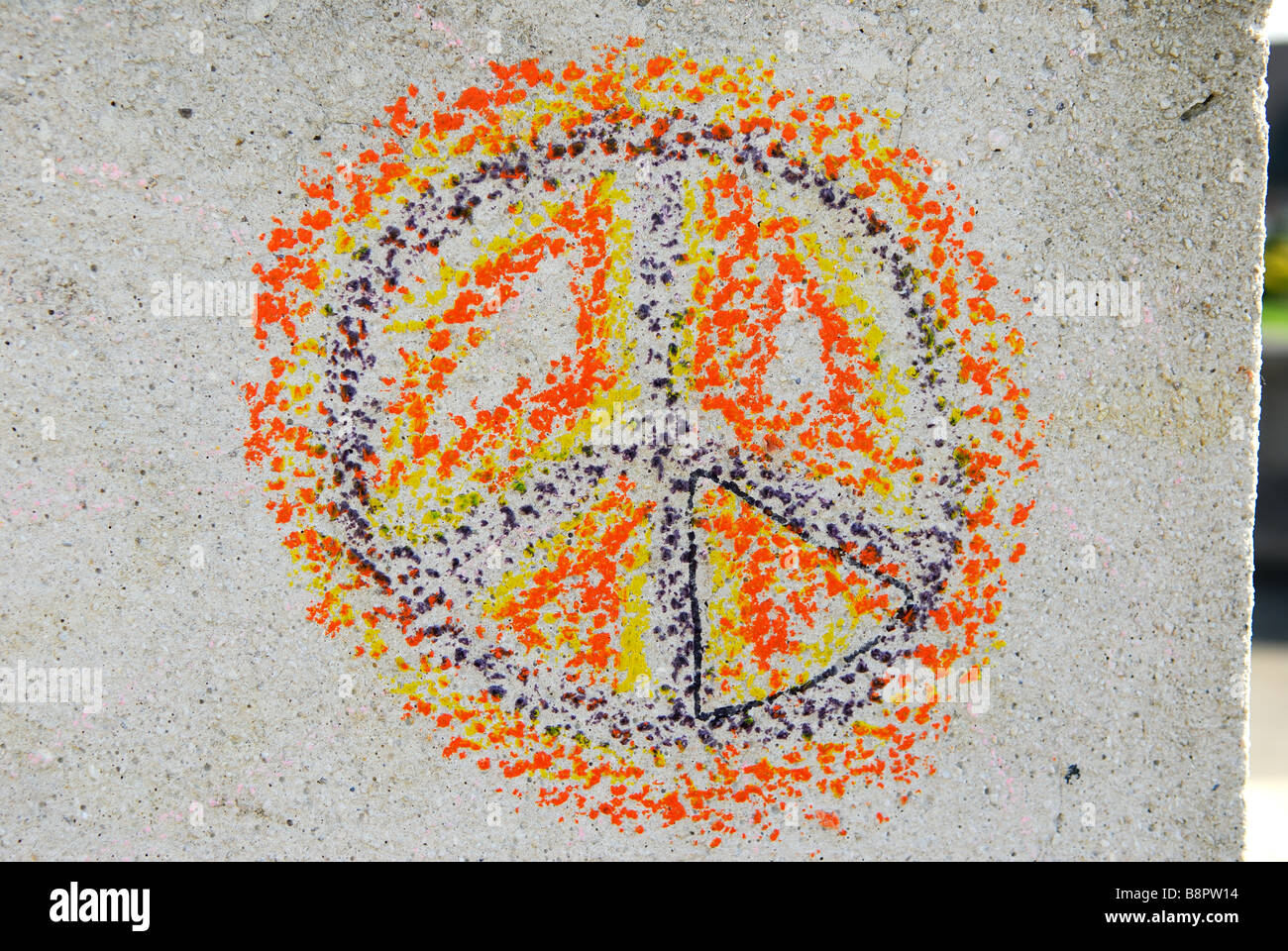 CND/PEACE SIGN. Photo Stock