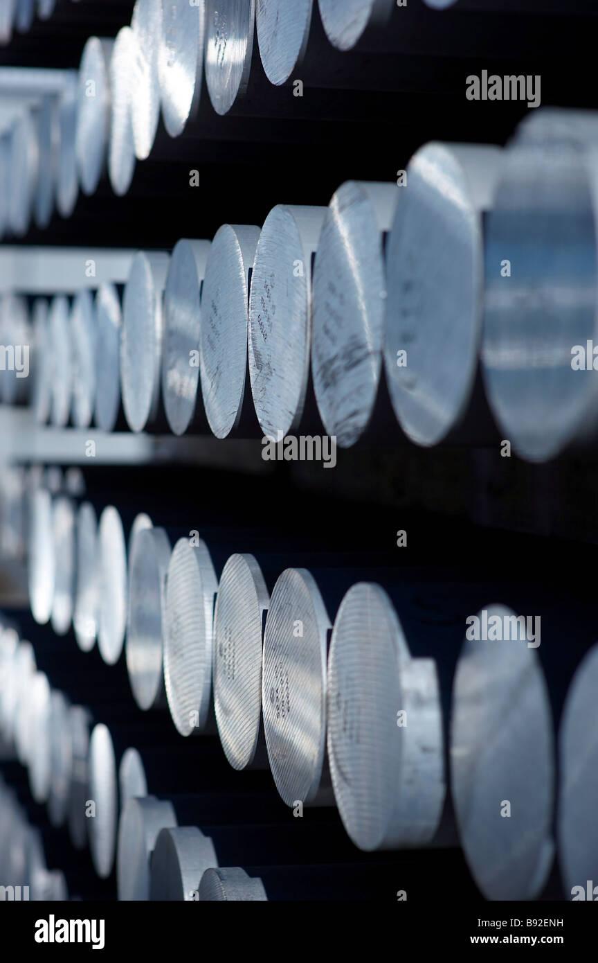 En aluminium Photo Stock