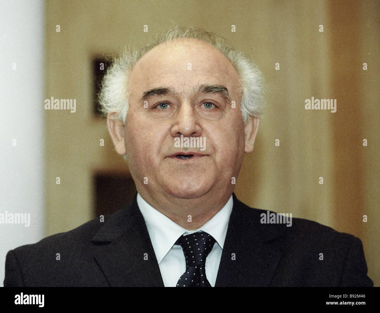 Directeur général de l'Agence russe des munitions Zinoviy Pak Photo Stock