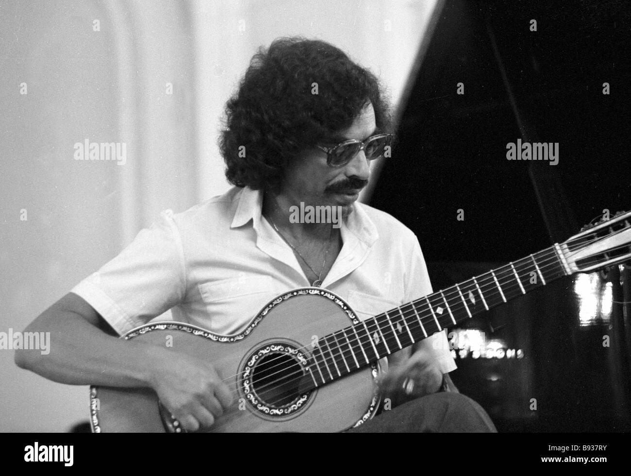 Sasha Chyorny interprète de romances ville Les Leningrad Philharmonic Hall Photo Stock