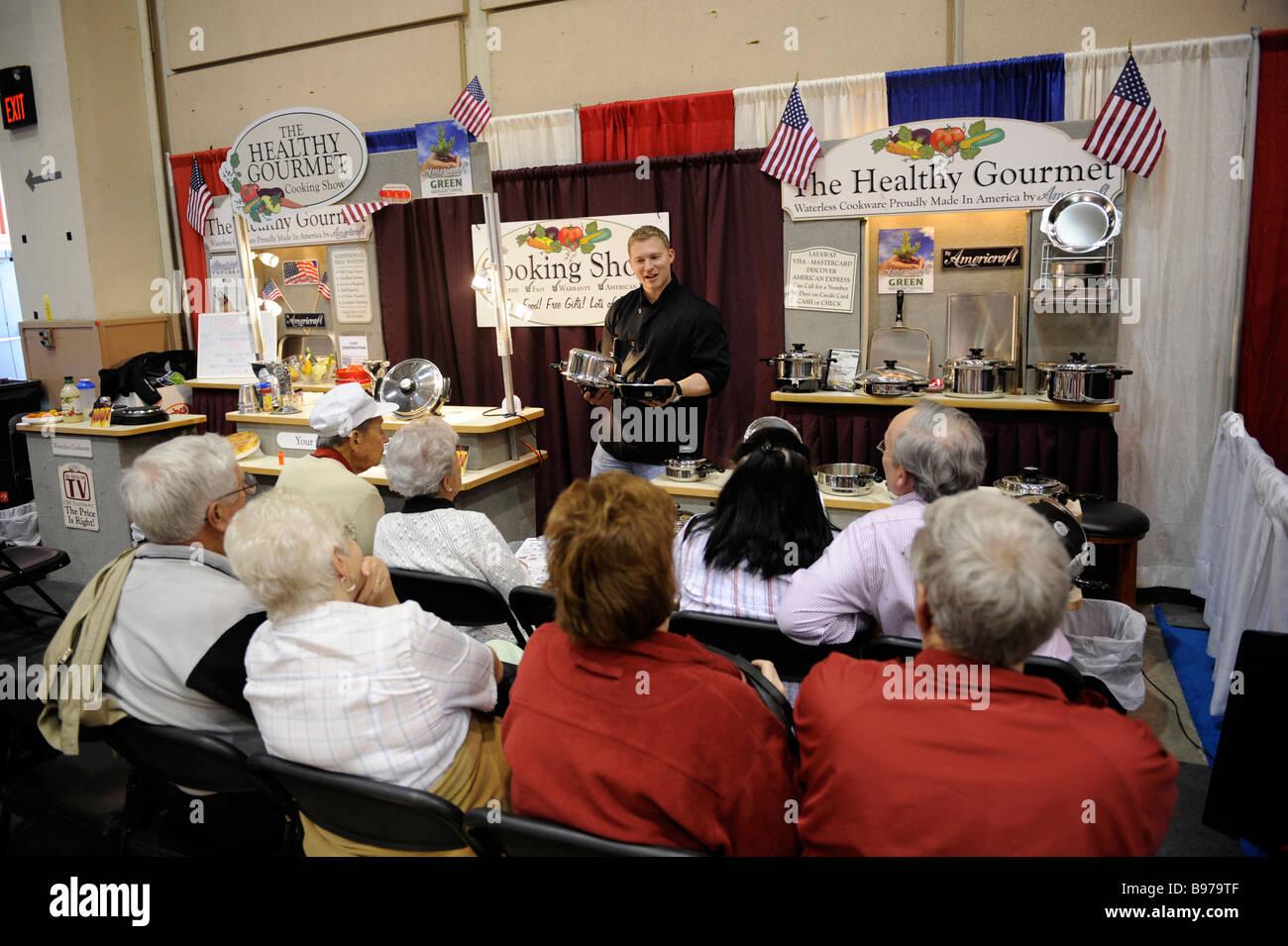 De Cuisine à cordes à Tampa Florida State Fairgrounds Photo Stock