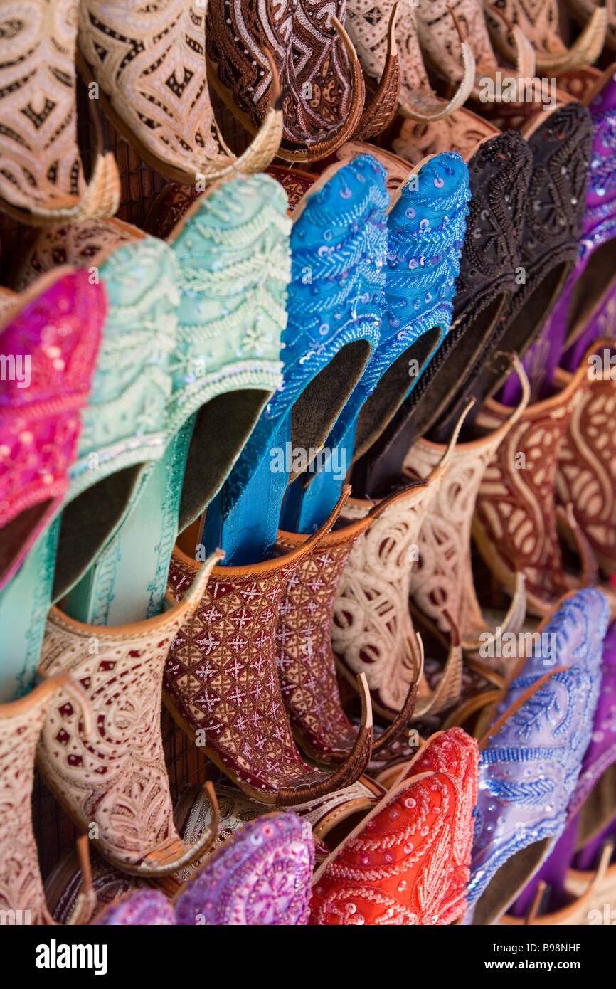 Shoes for sale, Dubaï, Émirats Arabes Unis Photo Stock