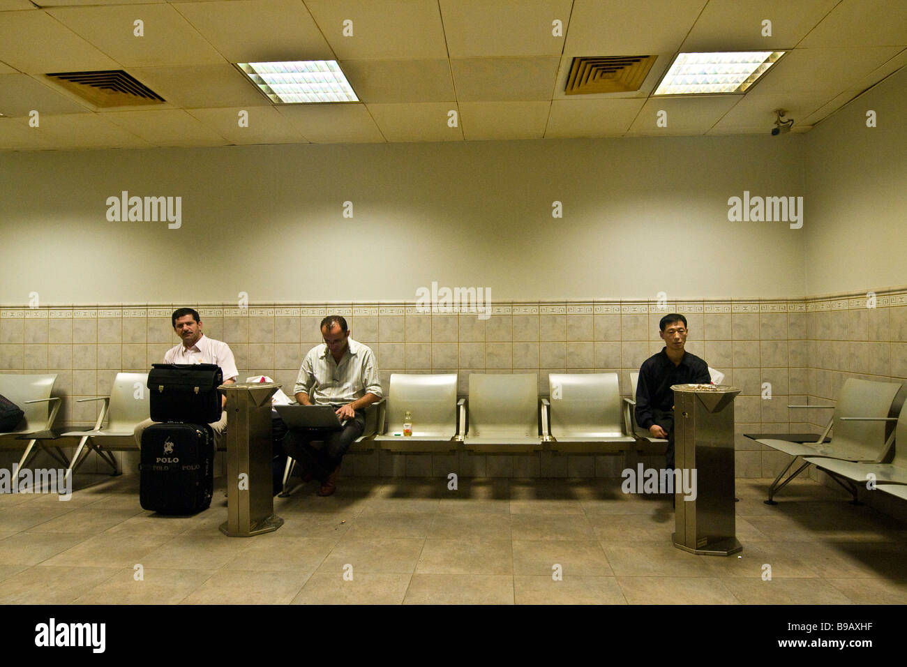 Aéroport de Doha Banque D'Images