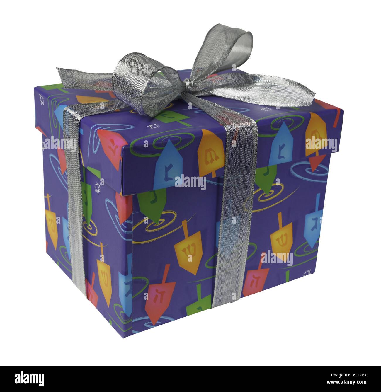 Boîte cadeau présent Photo Stock