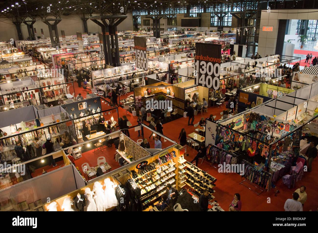 Club enfants trade show, au Jacob Javits Convention Center de New York le dimanche 8 mars 2009 Frances M Roberts Banque D'Images