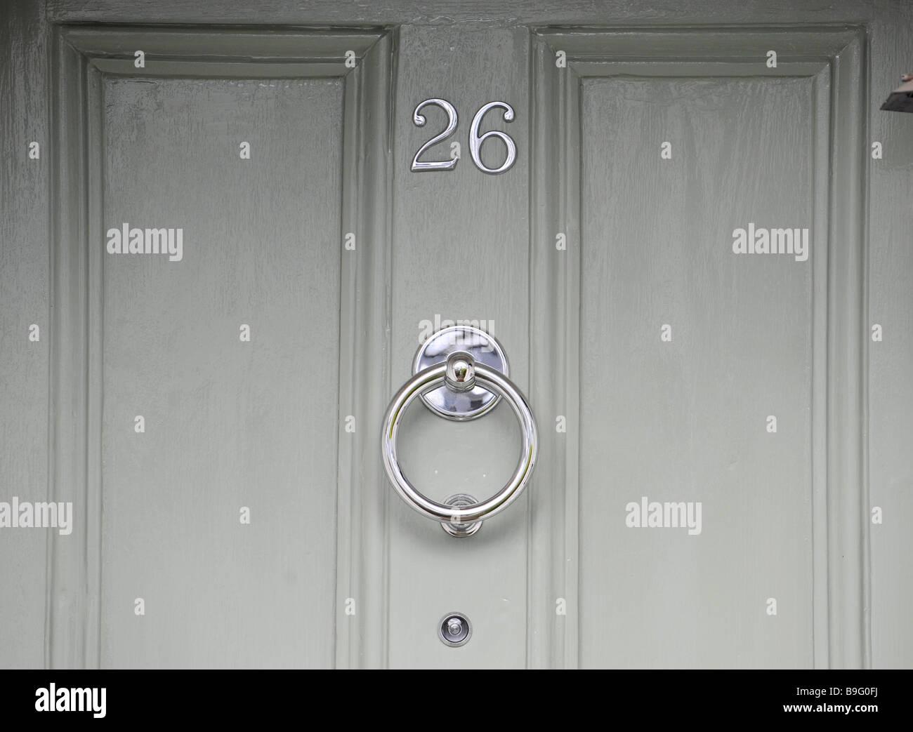 La Chambre Numéro 26, Un Judas Et Un Heurtoir Peint Sur La Porte Du0027un  établissement Anglais, Appartement, Maison, Duplex