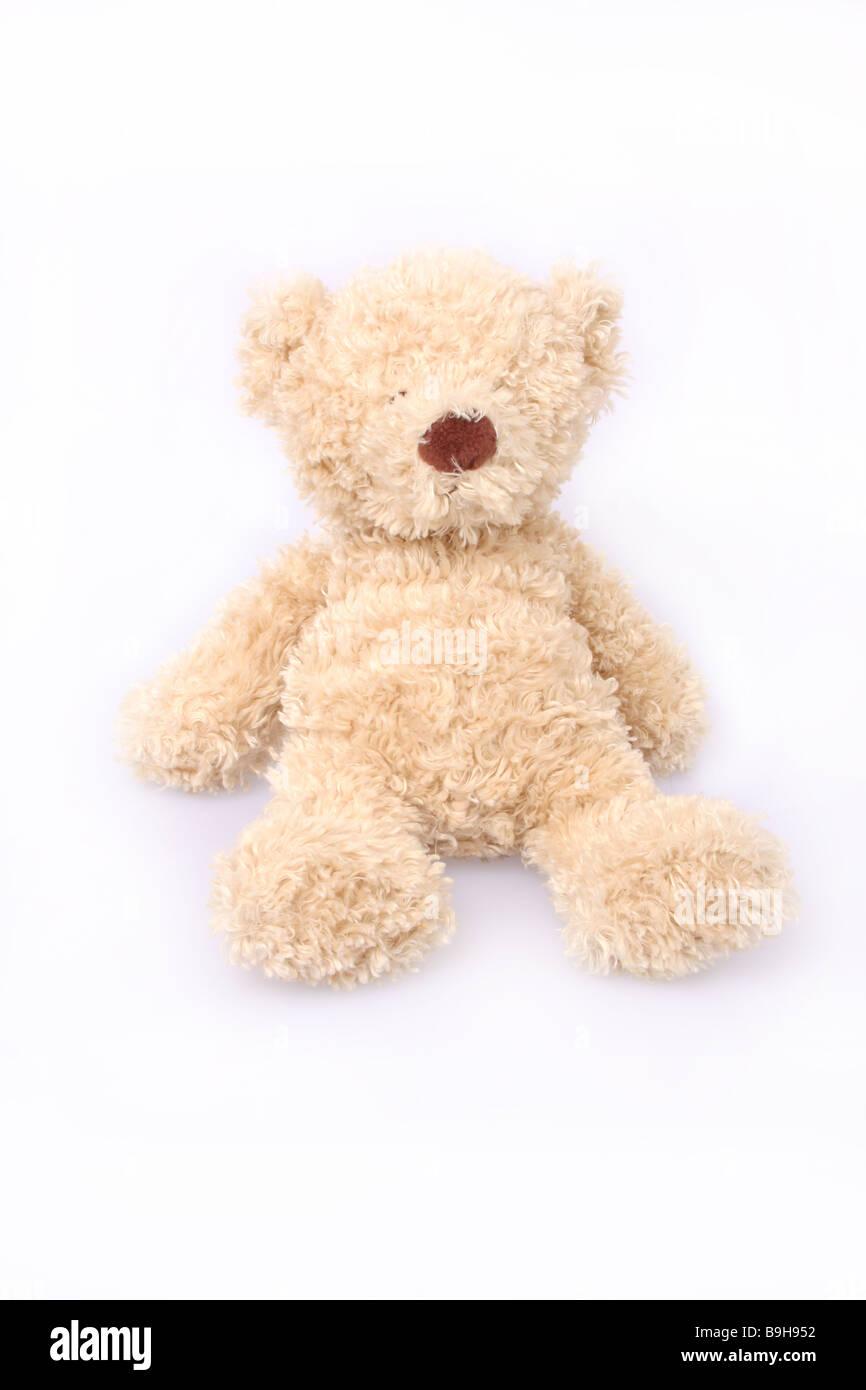Un ours en peluche. Photo Stock