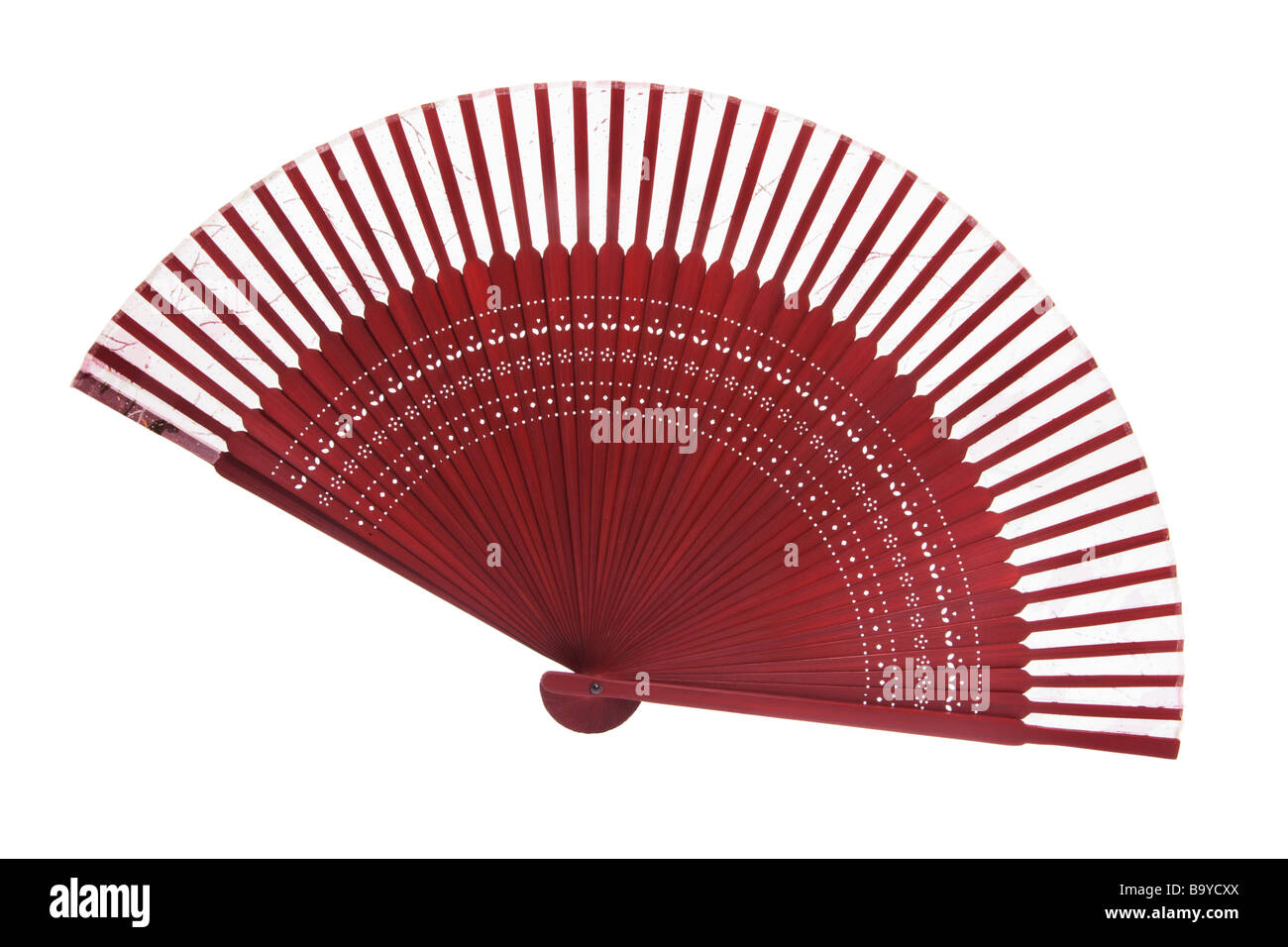 Ventilateur pliant chinois Photo Stock