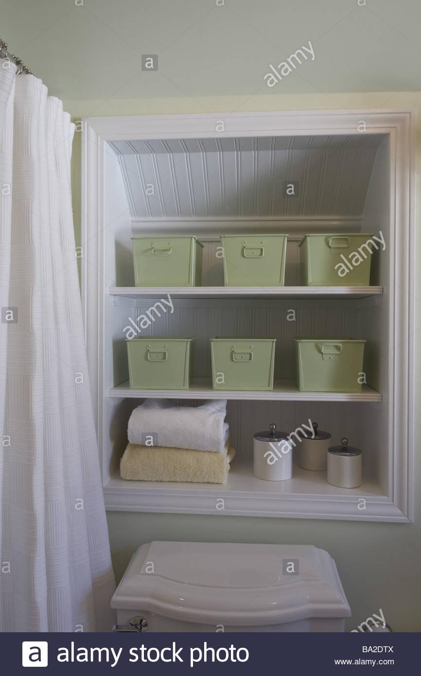 Rangement serviette de bain good charmant rangement - Rangement serviette de bain ...