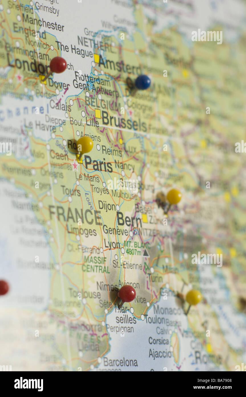 Carte Angleterre Pays Bas.Carte Europe Carte Europe Centrale Villes Pins France Suisse