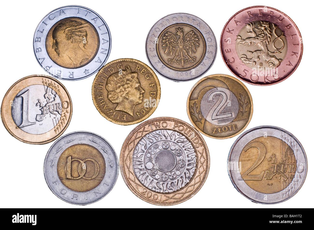piece de monnaie zone euro