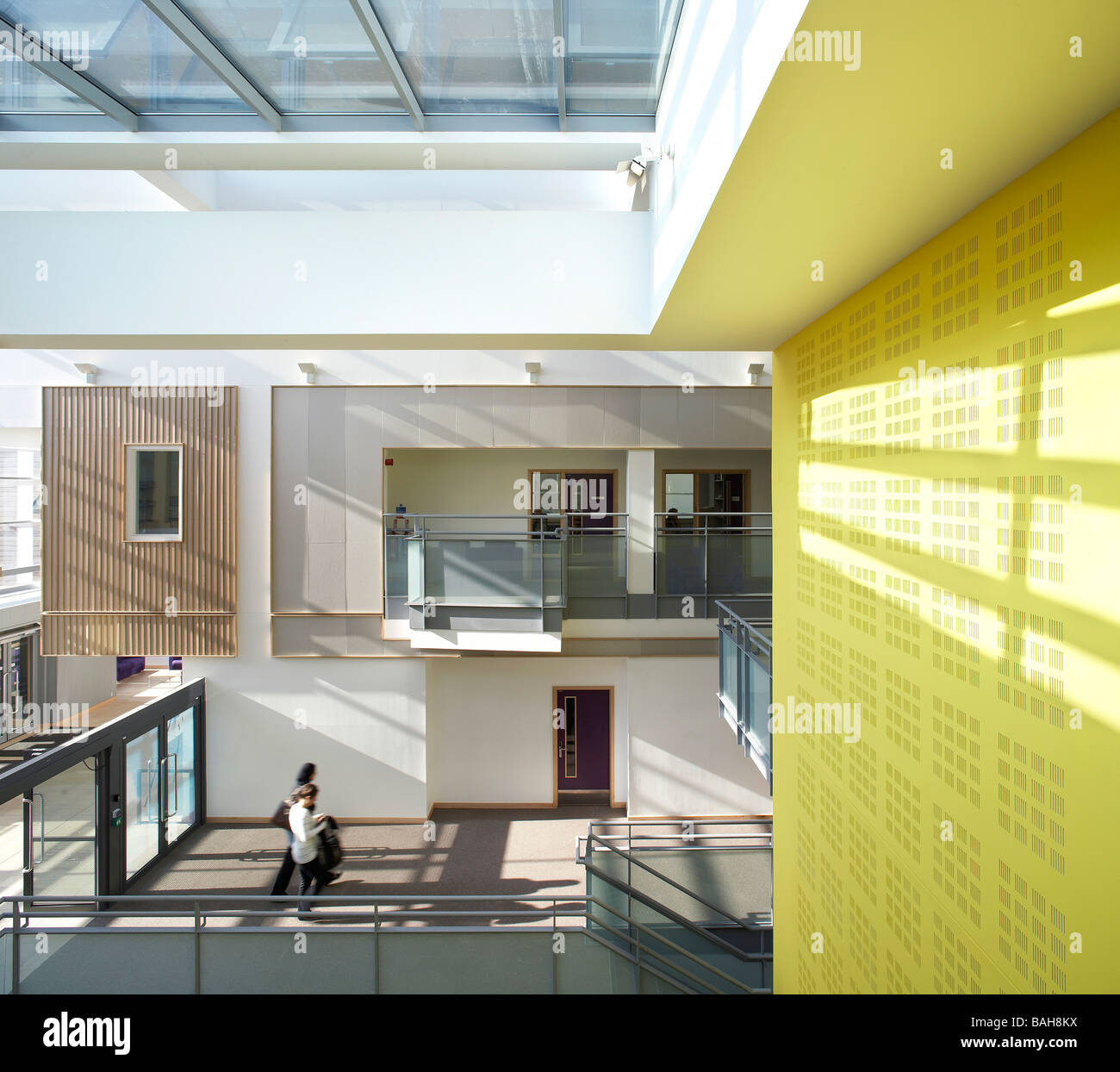Académie de Paddington, Londres, Royaume-Uni, Feilden Clegg Bradley Architectes, Académie de Paddington. Photo Stock