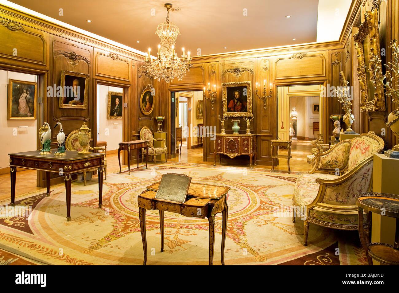 france paris le marais mus e cognacq jay mention obligatoire banque d 39 images photo stock. Black Bedroom Furniture Sets. Home Design Ideas