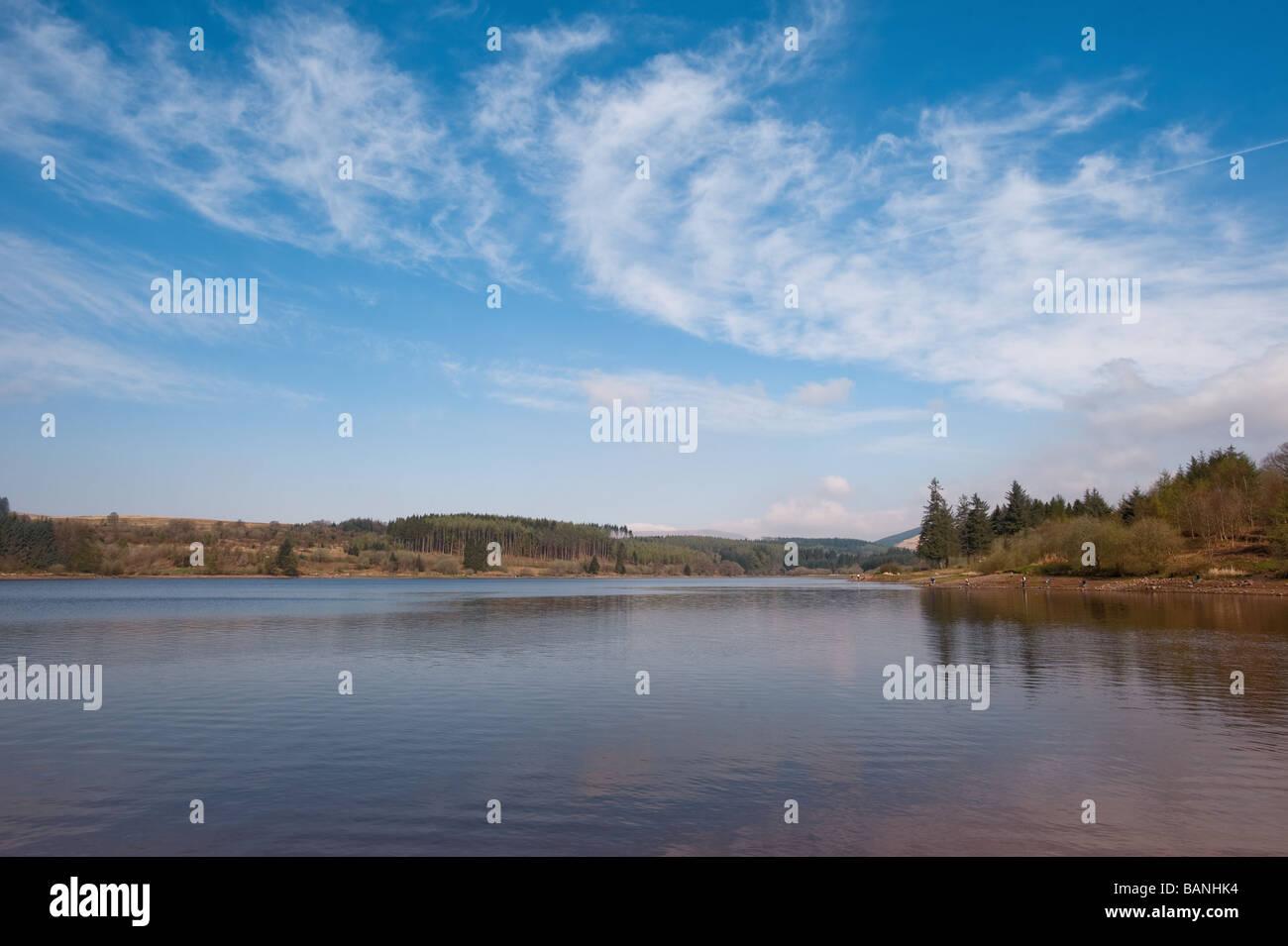 Llyn Onn , Parc national de Brecon Beacons , Pays de Galles Photo Stock