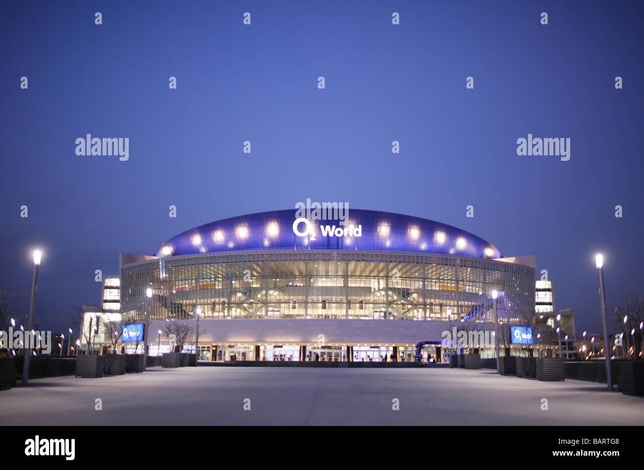 O2 World Berlin Allemagne Banque D'Images