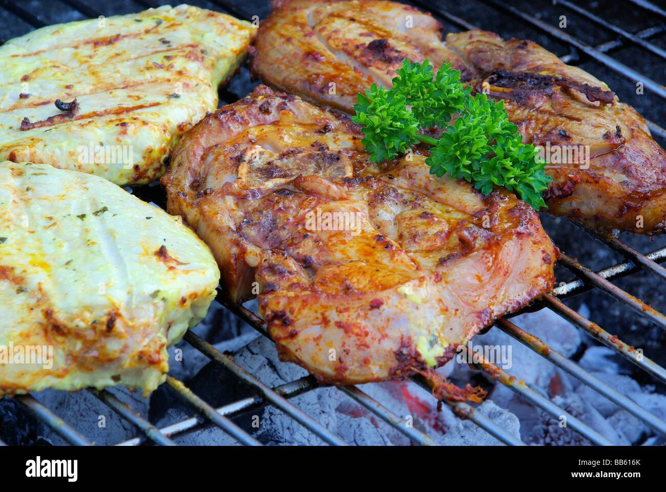 Grillen barbecue 94 Photo Stock